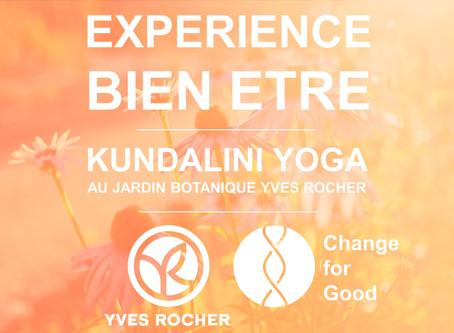Expérience Bien-être - Change for Good - Yves Rocher