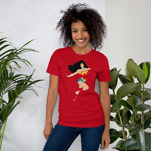 Wonder Woman Short-Sleeve Unisex T-Shirt