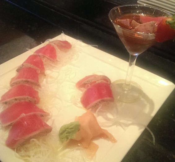 PepperCorn Tuna Sashimi