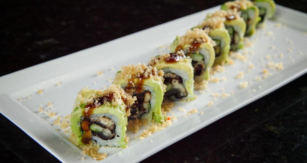Crunchy Caterpillar Roll