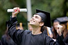 happy graduation student