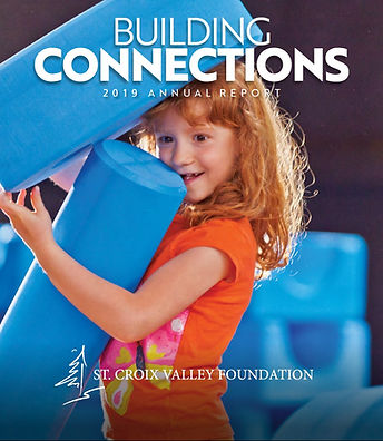 Cover of 2019 SCVF annual report