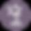 Palm Tree Icon - Purple