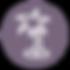 Palm Tree Icon - Фиолетовый