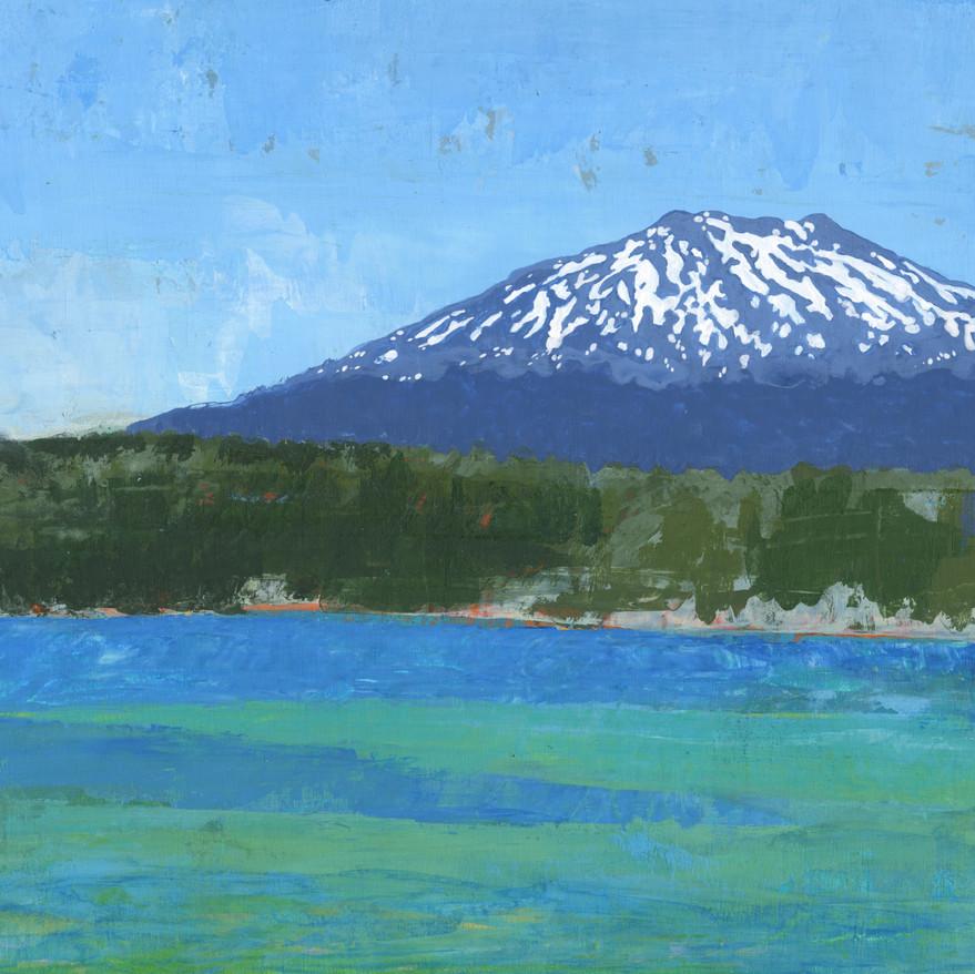 Lava Lake & Mount Bachelor