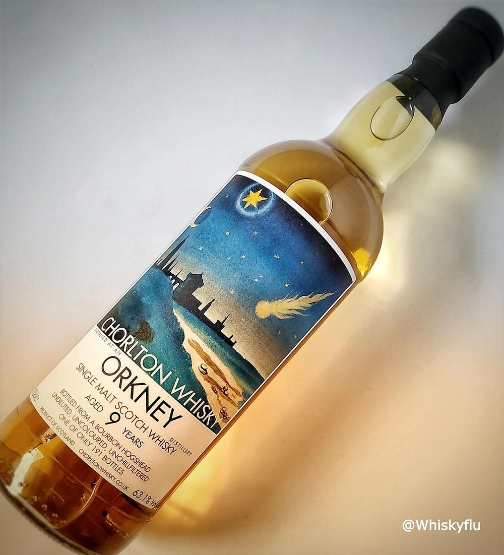 Chorlton Whisky Orkney Highland Park 9 year old