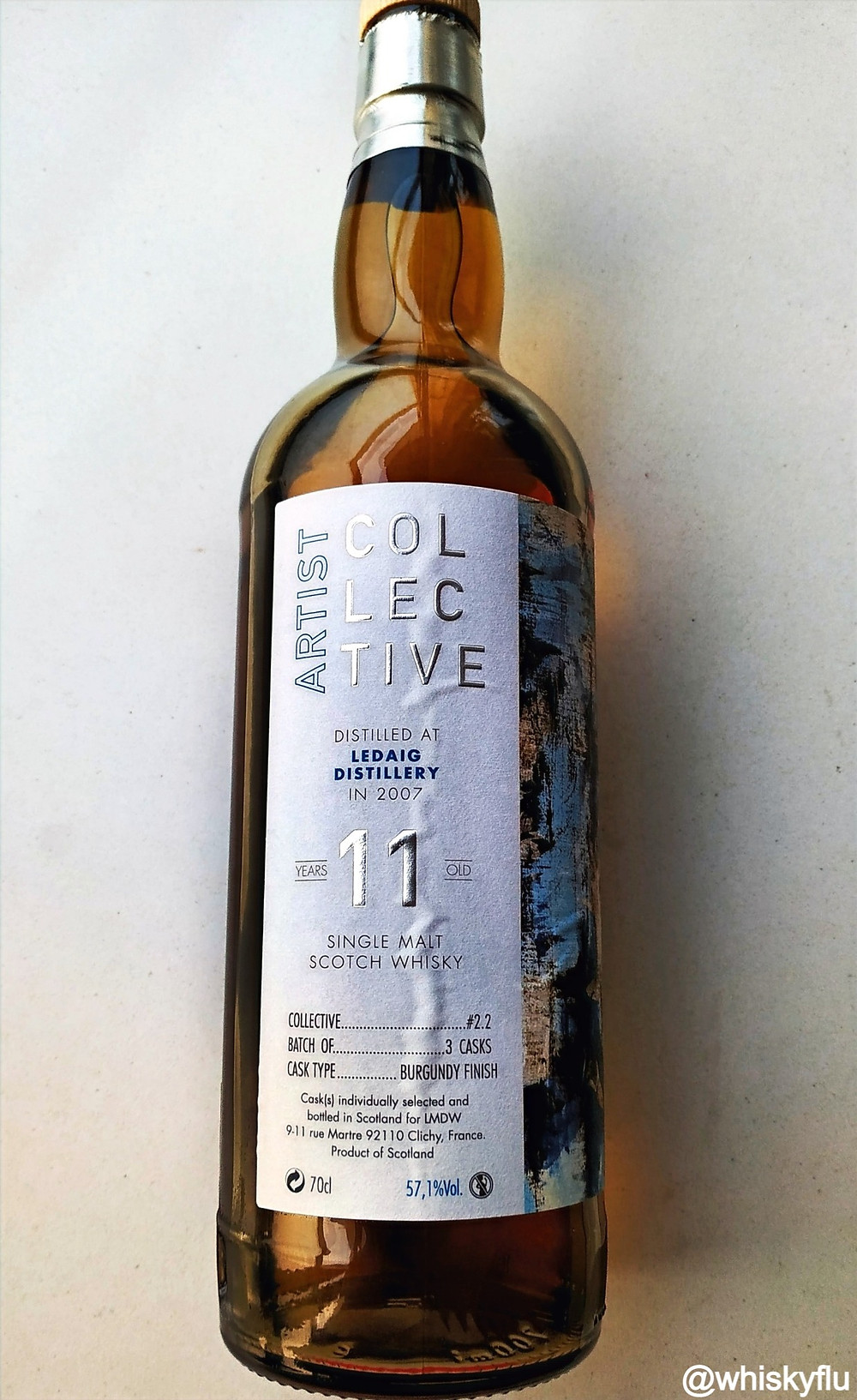 Ledaig Artist Collective Burgundy Finish 11 years