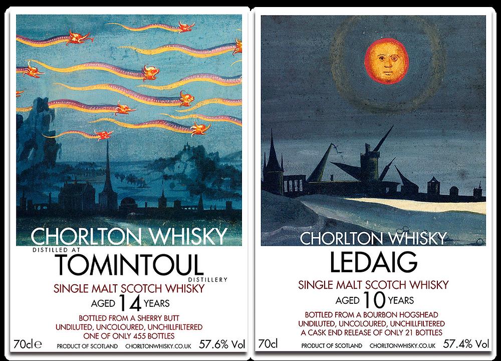 Chorlton Whisky Tomintoul Ledaig