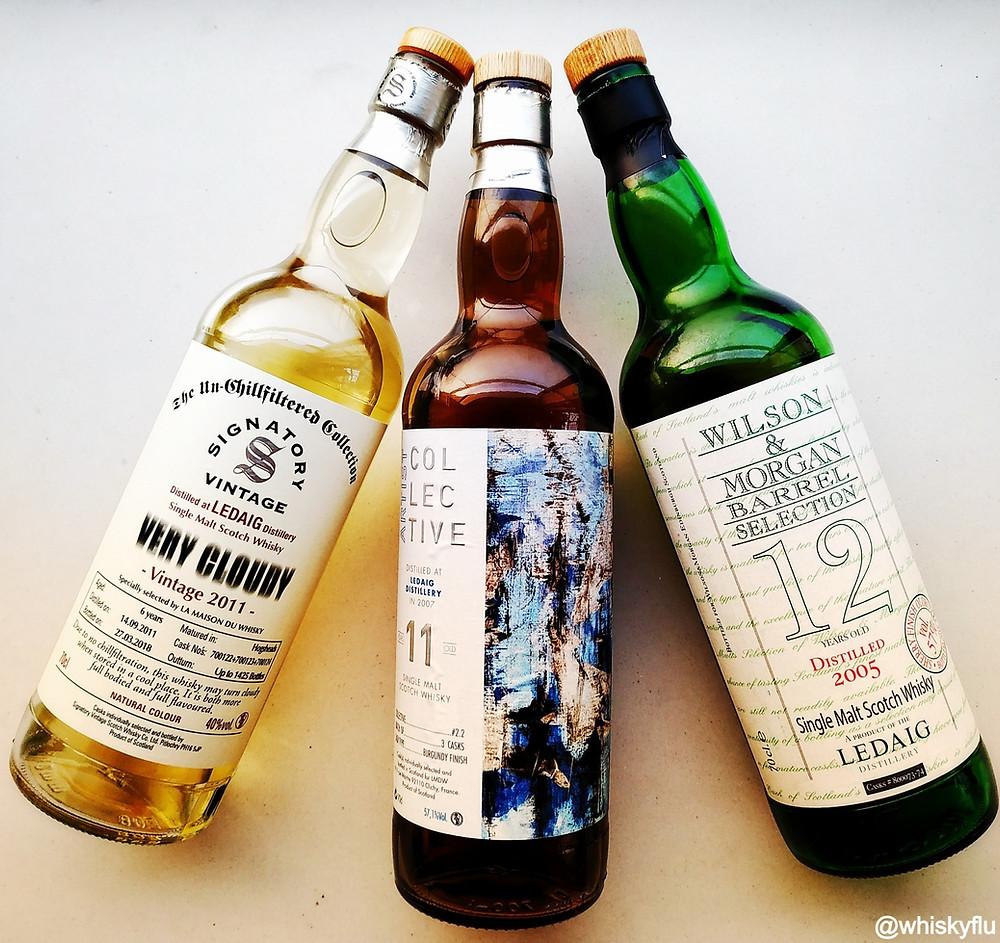 Ledaig Independent Bottlings