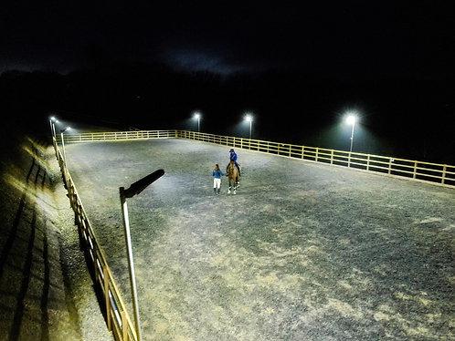 Solar Arena 2 Lights, Premium Paddock Lights