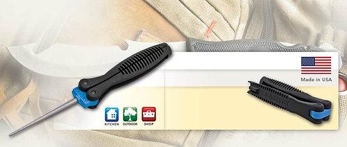 Lansky conical knife sharpener, folding,Fine Grit