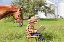 Horse reading a book with the child.jpg