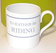I'd Rather Be Riding My Horse Mug