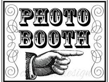 Photo Booth Sponsor