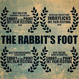 Rabbits Foot Accolades.jpg