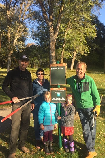 BBBS NW Montana - Baker Park in Whitefish - Adopt-a-Park