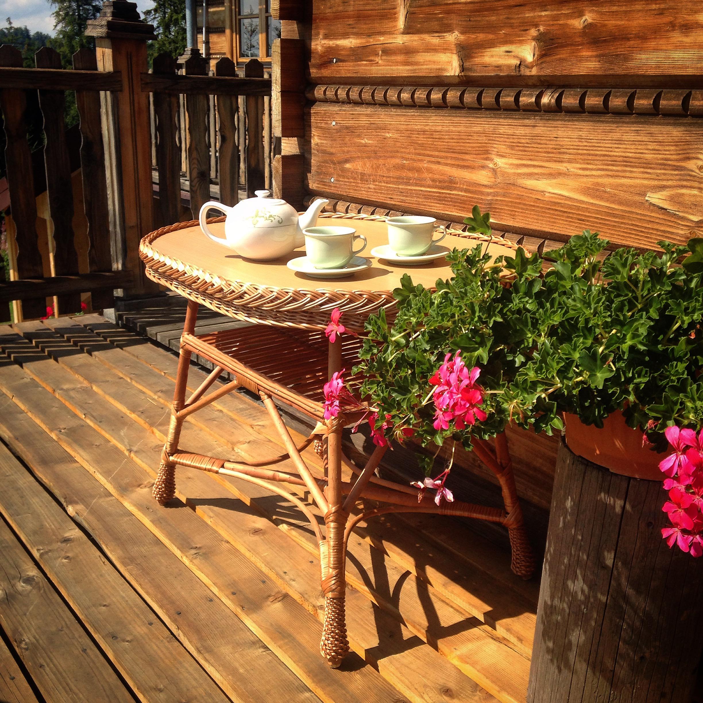 popołudniowa herbata dla gości