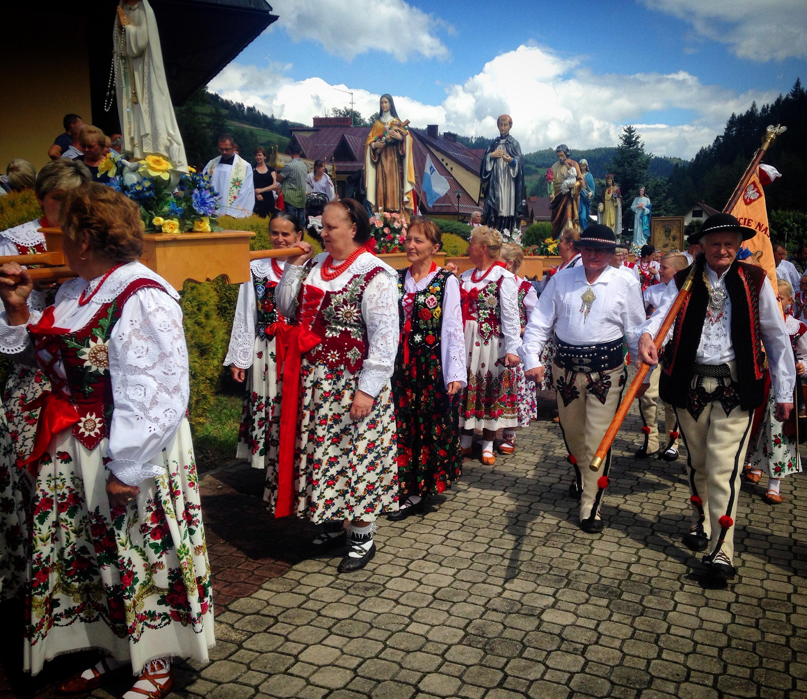 gorczański folklor
