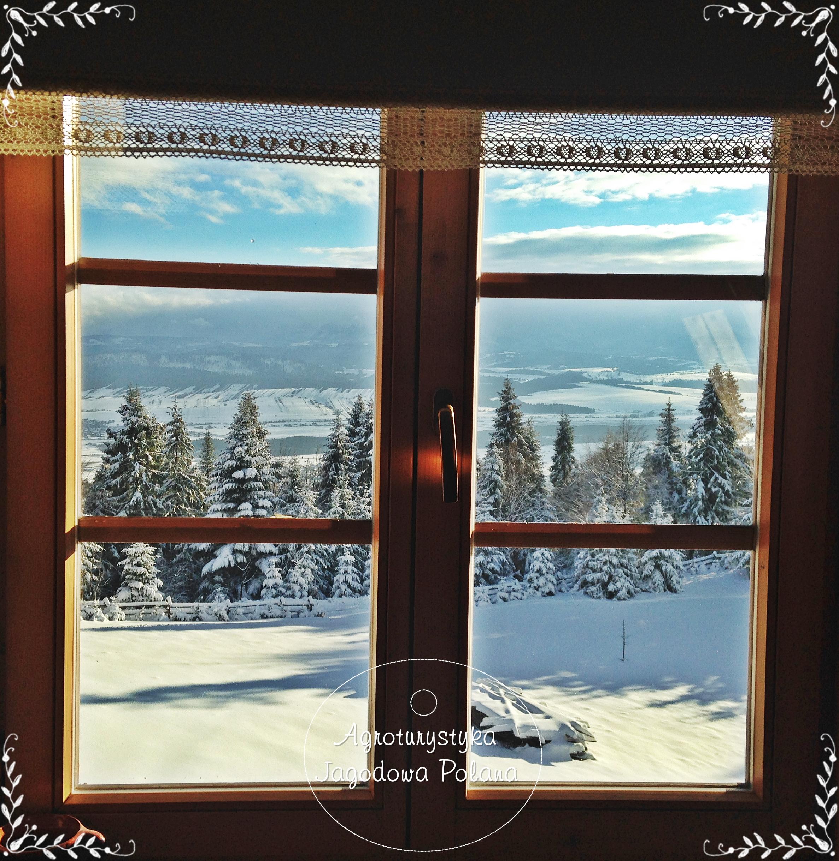 Pokój 1 - widok w stronę Tatr