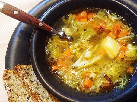 Wiejska zupa na wędzonce