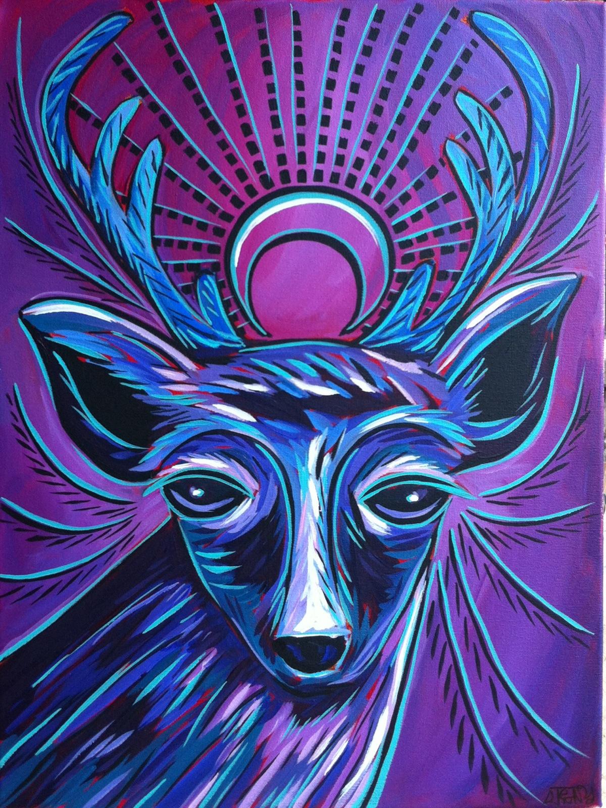 New Moon- soul deer series