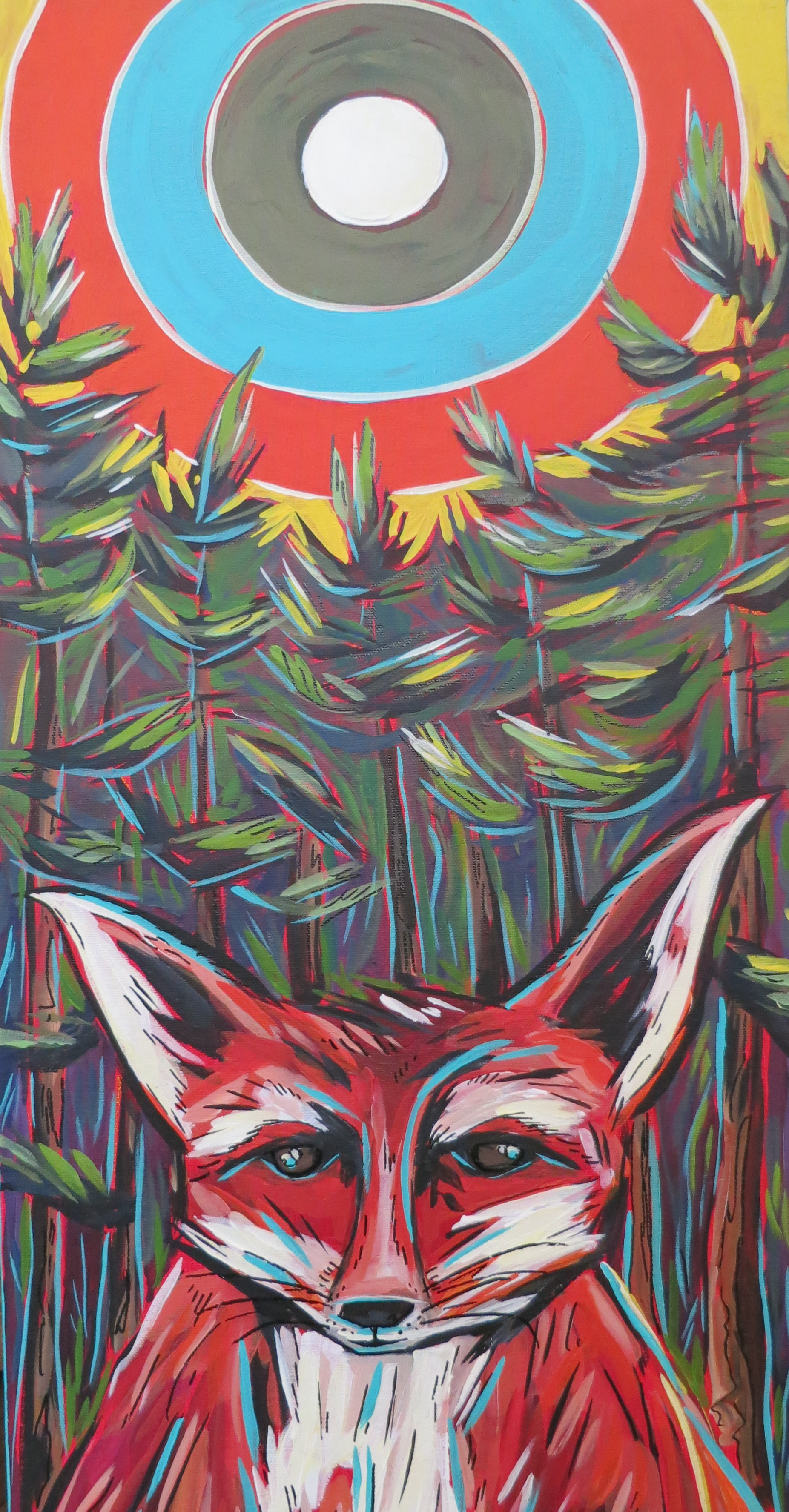 Fox Under The Sun
