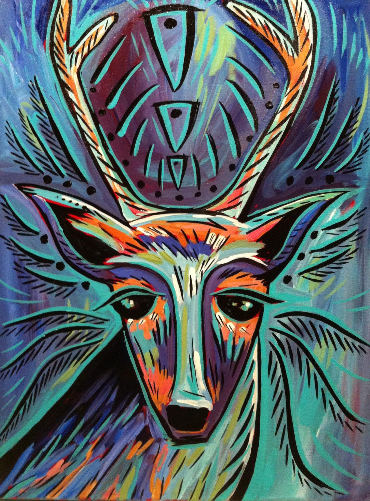 Intuition -- soul deer series