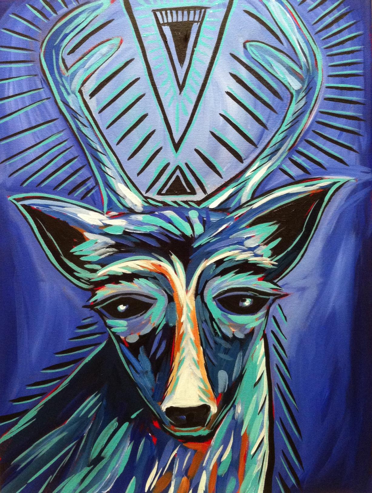 Old Soul -- soul deer series