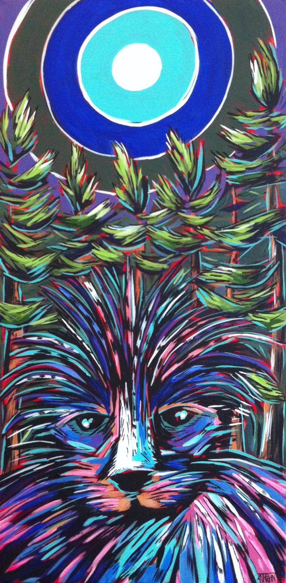 Porcupine Under The Sun (lavender)