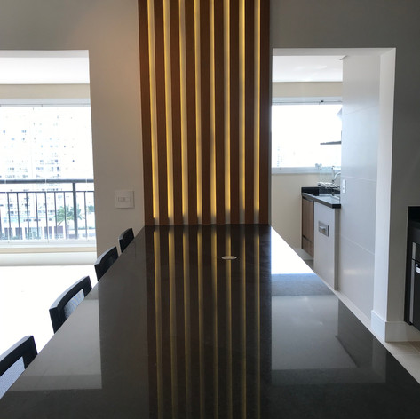 Painel Ripado com LED