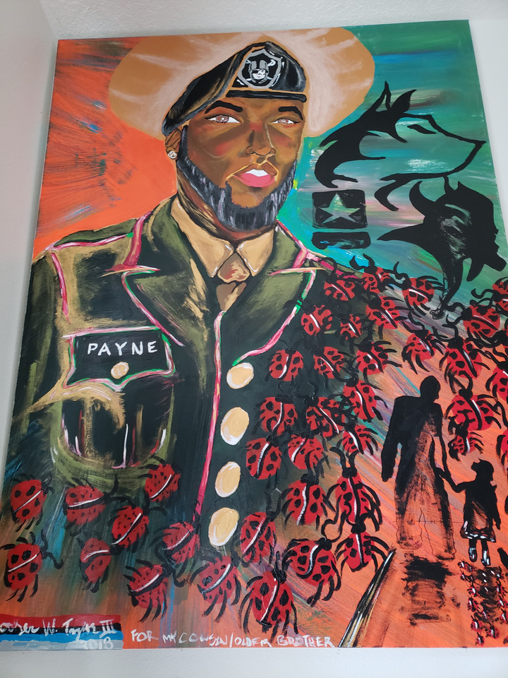"""THE REVOLUTIONIZED PORTRAIT OF AARON PAYNE"""