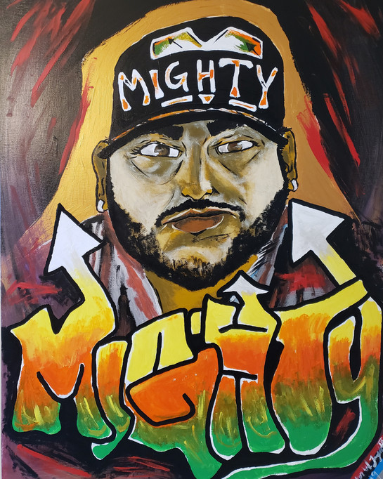 """THE REVOLUTIONIZED PORTRAIT OF MIGHTY"""