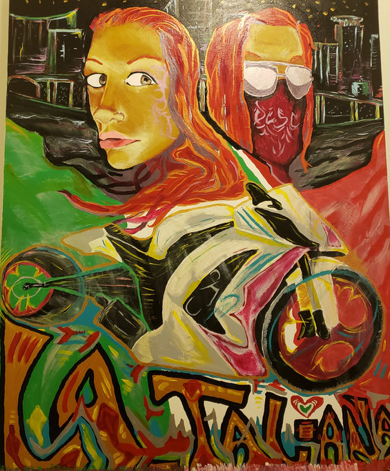 """THE REVOLUTIONIZED PORTRAIT OF LA_TALIANA"""