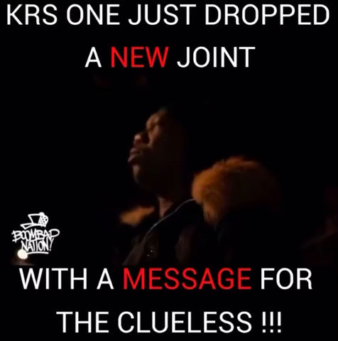 """The Truest of all """"CATALYSTS"""" the Great KRS ONE"""