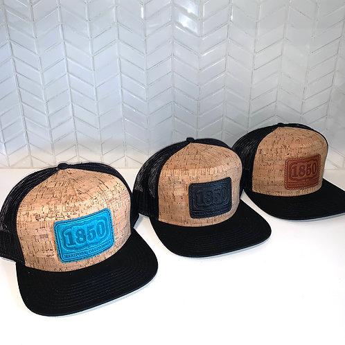 1850 Cork Flat Bill Hat