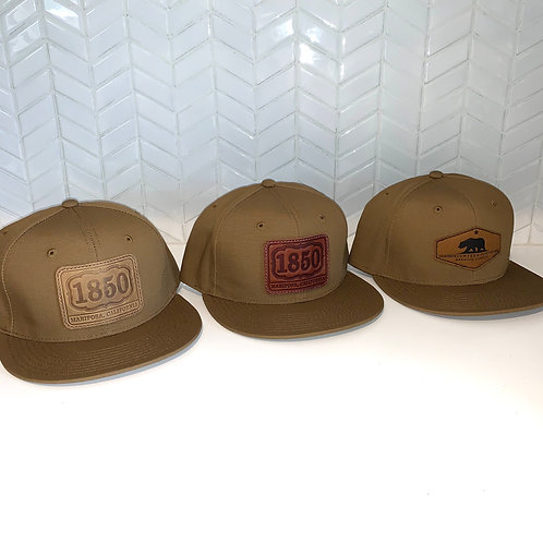 1850 Coyote Ripstop Trucker Full Back Hat