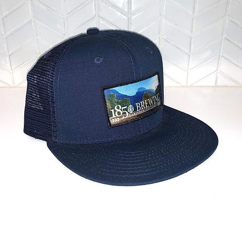 1850 Navy Ripstop Trucker Mesh Back Hat