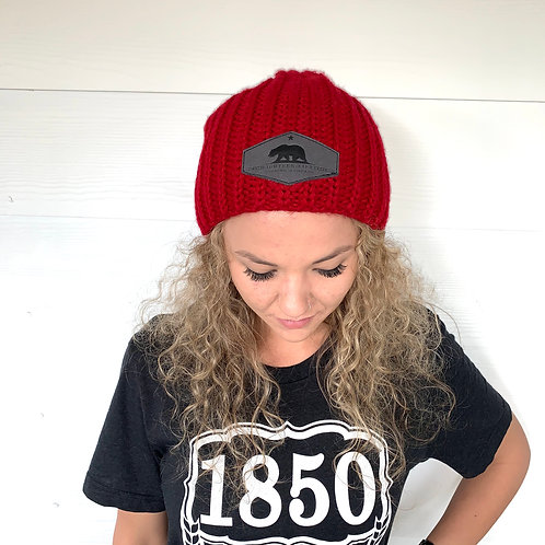 1850 Hipster Knit Beanie - 635
