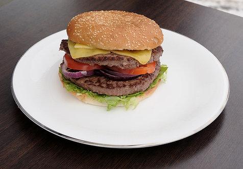 #52: Dobbeltburger, 320 g.