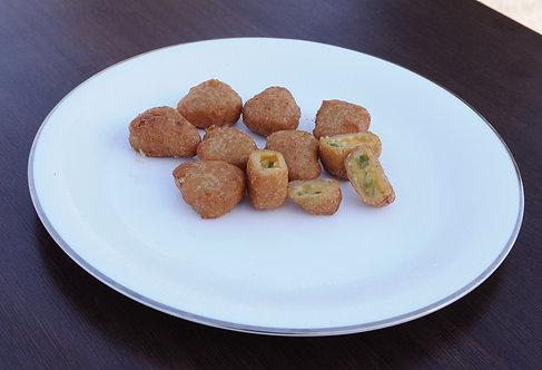 #74: Chillicheese nuggets, 8 stk.