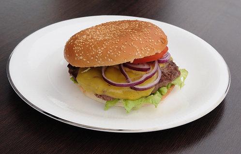 # 57 BBQ cheesburger 200G