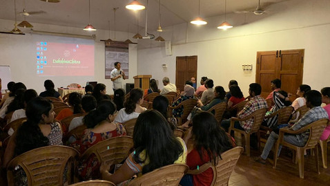 DAKSHINACHITRA WORKSHOP - 2019