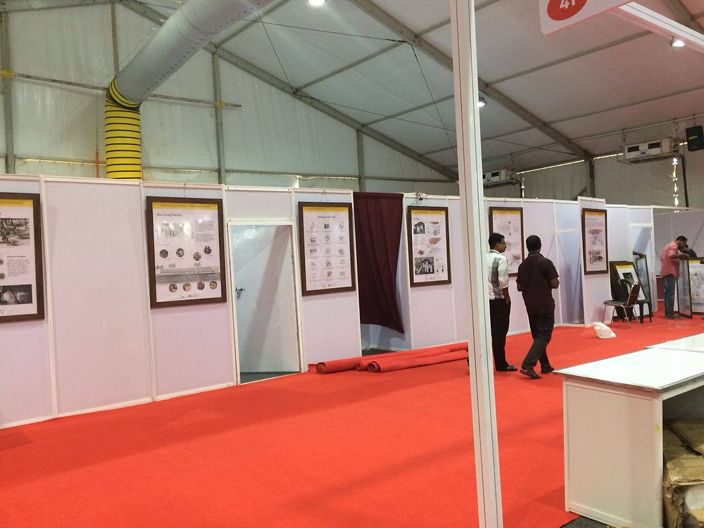 Alappuzha Coir Museum Exhibition - as a part of the Alappuzha Heritage Project,