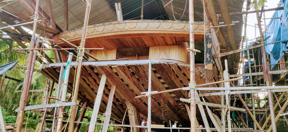 VISIT TO TRADITIONAL BOAT MAKING PLACES IN AZHEEKAL AND BEYPORE