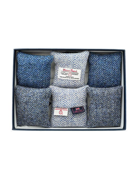 Harris Tweed and Chilcott Lavender - Gift Box Set of 6