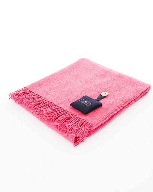Chilcott Plain Blanket - Plain vibrant Chilcott fuchsia