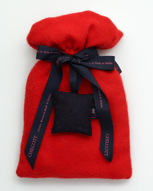 Super Soft Hot Water Bottles - Red