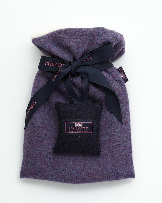 Alpaca Super Soft Hot Water Bottles - Purple