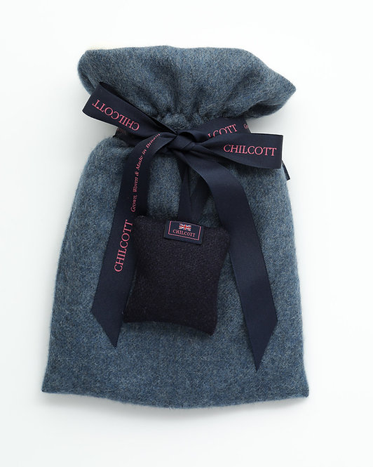 Super Soft Hot Water Bottles - Denim Blue