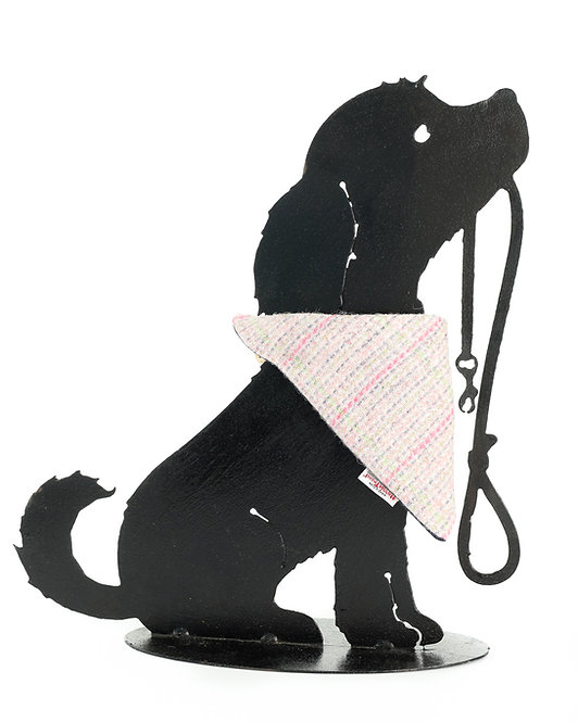 Dog Cravats - Chicott Harris Tweed - Pink